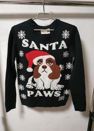 Теплый свитер размер uk 6 наш 42*