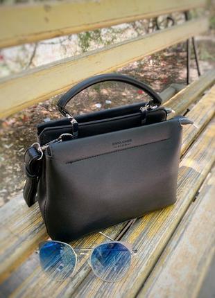 ❤️ сумка на длинной ручке cross-body david jones / трендовая и стильная кроссбоди клатч