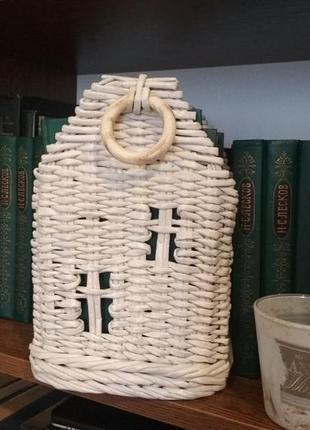 Корзина-домик