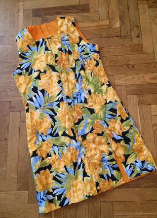 Оригинальное платье трансформер,двусторонее платье,хлопок ,imported by promoceak for