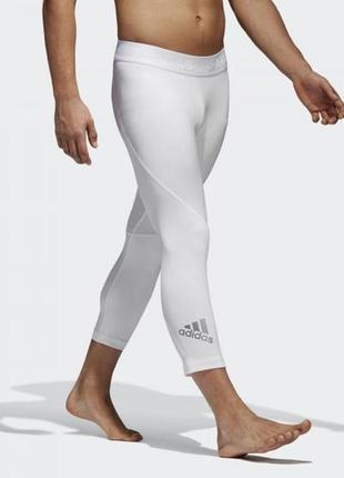 Укороченные леггинсы  лосины тайтсы adidas alphaskin sport  m оригинал