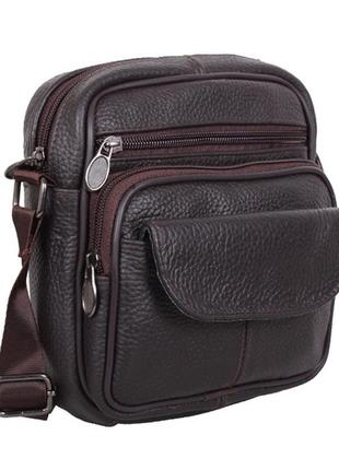 Удобная мужская сумка мини для телефона и мелочей