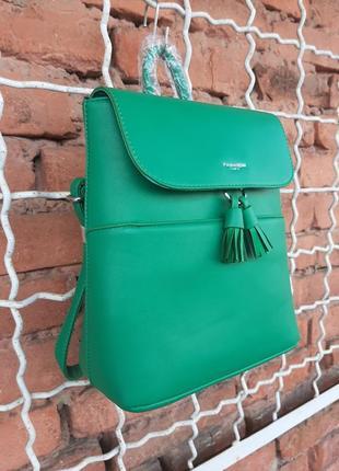 Рюкзак-сумка из эко кожи