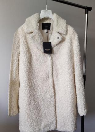 Новое меховое пальто twin-set, италия оригинал шуба куртка
