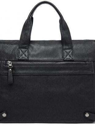 Мужская деловая кожаная сумка !1 фото