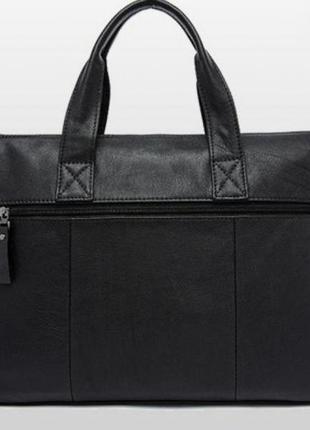 Мужская деловая кожаная сумка !6 фото