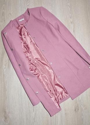 Стильное новое пальто пыльной розы jacgueline de yong