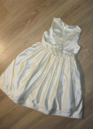 Нарядное платье на 10лет