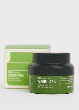 Успокаивающий крем с экстрактом зеленого чая