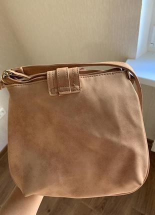 Продам замшевую сумочку