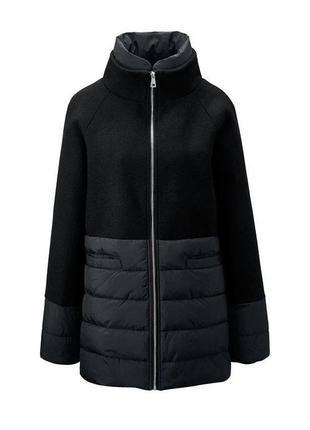 Женское пальто с шерстью из комбинированной ткани tcm tchibo, германия