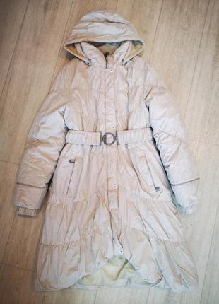 Зимняя куртка плащ пуховик