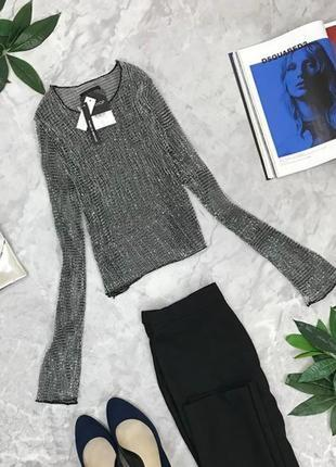 Нарядная блуза с отблеском  bl1848032 topshop
