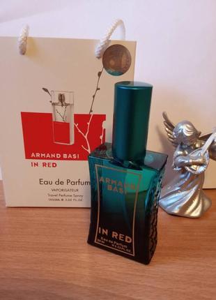 Франция, новый, супер стойкий аромат, парфюм, духи armanaond basi in red