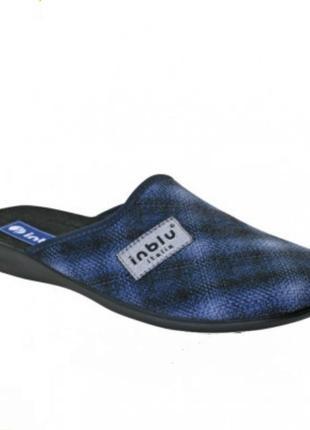 Качественные, удобные мужские тапочки  тм inblu (инблу).