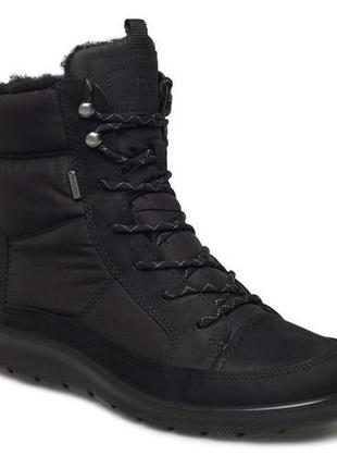 Зимний ботинки с gore-tex ecco babett boot мембрана
