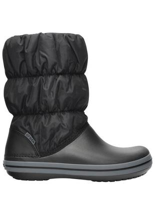 Зимние сапоги crocs winter puff boot