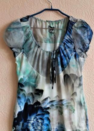 Блузка с шелком bandolera