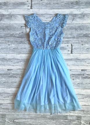 Нежное красивое платье gepur