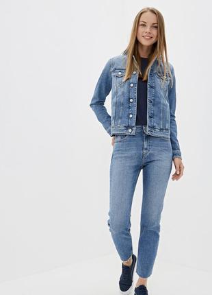 Классическая джинсовая куртка джинсовка