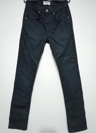 W30 w29 l34 сост нов goodsouls джинсы мужские синие зауженные slim fit zxc