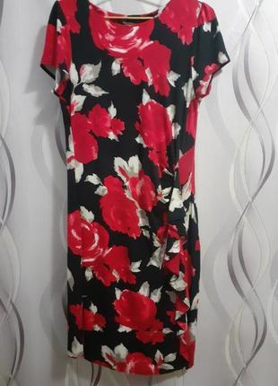 Нарядное натуральное платье