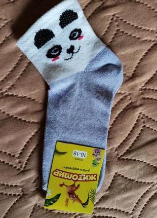 Носки для девочки р/р 18-20,хлопок/стрейч.