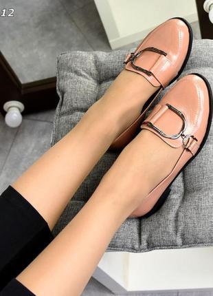 Шикарные стильные туфли-лоферы