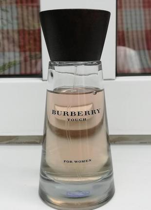 Burberry touch for women парфюмированная вода