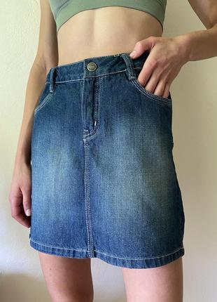 Джинсова спідниця юбка розміру s-m