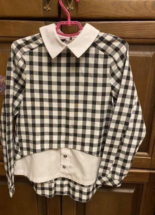 Рубашка блуза для дівчинки