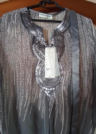 Новая туника блуза с пояском