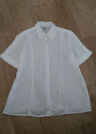 Натуральна  сорочка з коротким рукавом