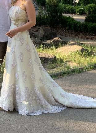 Платье для фотосессии свадебное