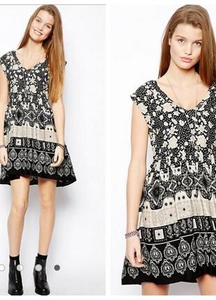 New look легкое вискозное платье, 8-36