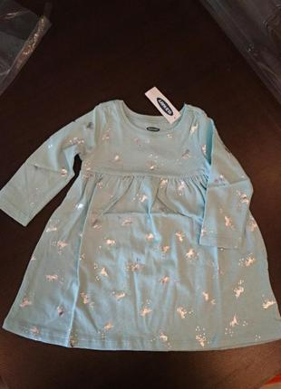 Платье old navy 6-12 месяцев