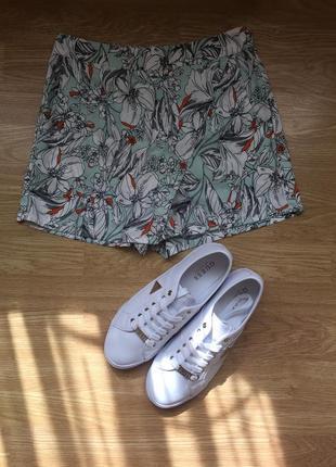 Новые фирменные лёгкие юбка-шорты atmosphere, размер s