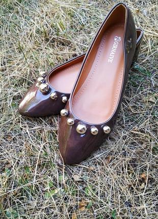 Стильные туфельки на осень.