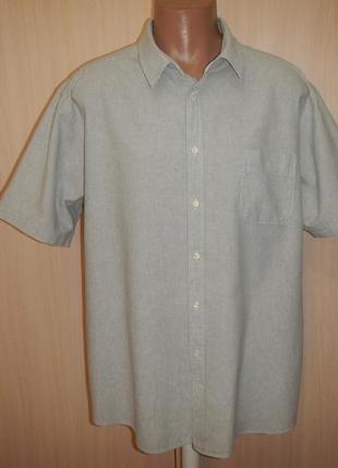Льняная тенниска рубашка tu p.xxl