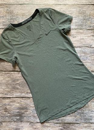 Женская футболка nike pro оригинал