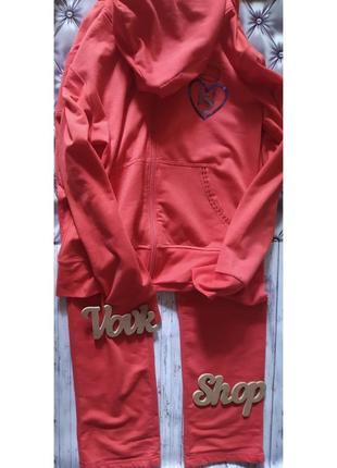 Спортивный костюм кофта и штаны стильный godsend