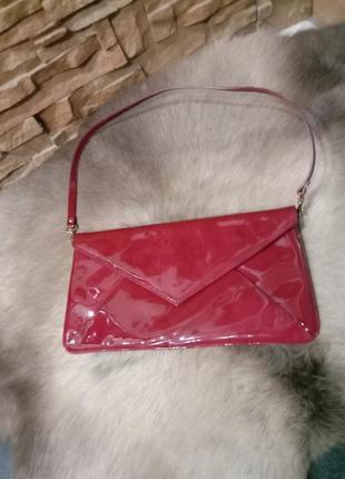 Шикарная сумка клатч известного бренда l.k.bennett