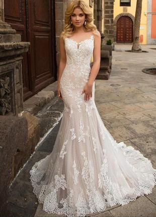 Свадебное платье naviblue lina рыбка трансформер
