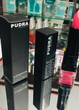 Губная помада pudra cosmetics lip stick