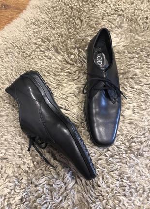 Шикарные туфли лоферы оригинал tods
