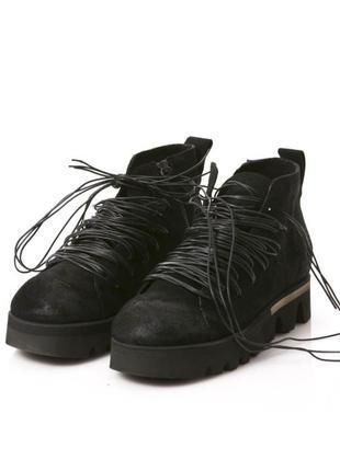 Rundholz black label ботинки кожа