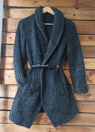 Nee look пальто стильное с поясом