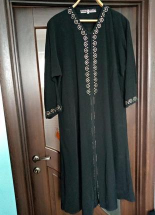 Довге велике чорне плаття (дефект)