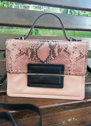 Нова фірмова шкіряна англійська сумка кросбоді autograph (marks&spencer) !!! оригінал!!!