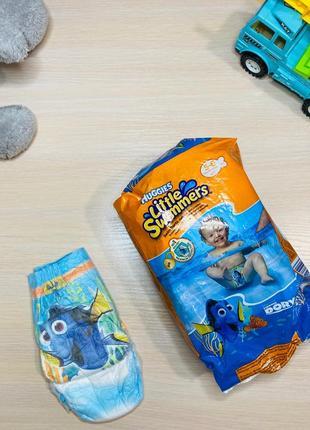 Памперсы подгузники  little swimmers 5-6 {12-18 кг}, 7 шт